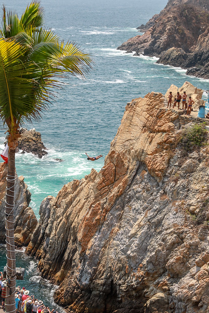 Armchair Traveling - Acapulco Cliff Divers