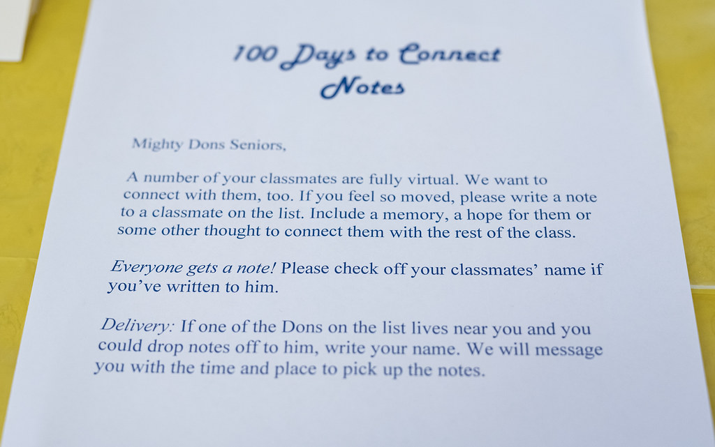 Class of 2021 - 100 Days to Connect