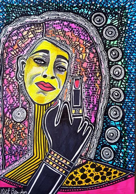 אמנות הפופ ארט מירית בן נון ציירת ישראלית אמנית מודרני עכשווי