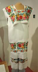 Hipil Huipil Yucatan Mexico Maya Embroidery