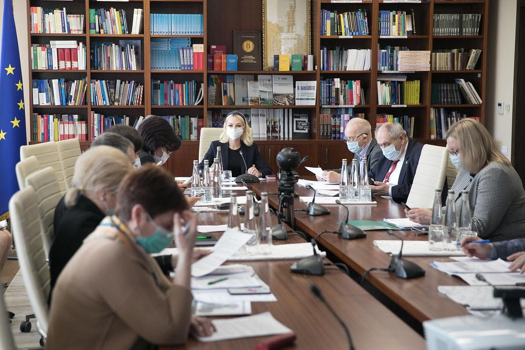 31.03.2021 Ședința Comisiei mediu și dezvoltare regională
