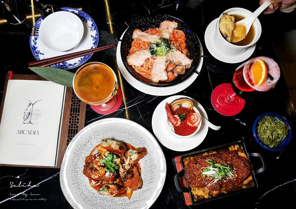台北約會餐廳氣氛浪漫推薦隱世餐酒館信義區餐廳中國風夜店風華美氣氛好永春站 (1)