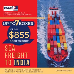 Visit: https://www.dtdcaustralia.com.au/ DOOR TO DOOR: SEA FREIGHT TO INDIA #doortodoor #courier #dtdc #courierservice #internationalcourier #courierservices #domesticcourier #delivery #deliveryservice #freight #logistics #shipping #airfreight #couriercom