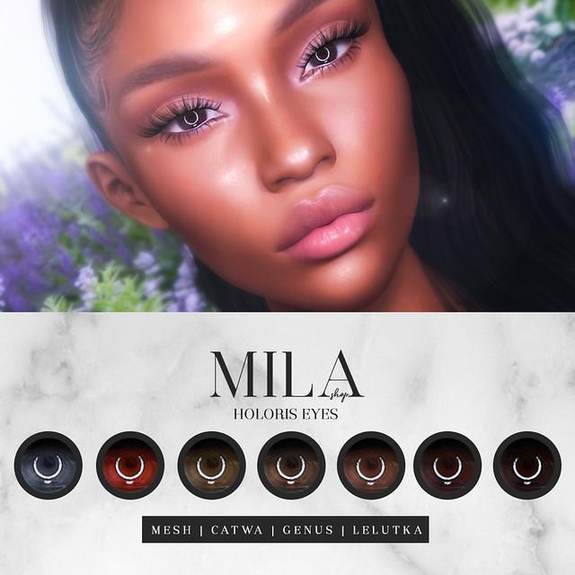 .MILA. Holoris Eyes [Mesh/Catwa/Genus/LeLutka]