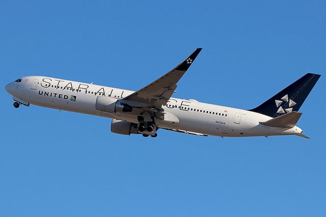 N653UA | Boeing 767-322ER/W | United Airlines (Star Alliance)