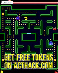 [NEW] PAC-MAN FREE TOKENS Add up to 999 amount of Tokens for Free This is the only method that works perfectly HOW TO USE: 1. Go to Website 2. Enter your Username/ID or Email (you donu2019t need to enter your password) then click CONNECT 3. Enter the amount