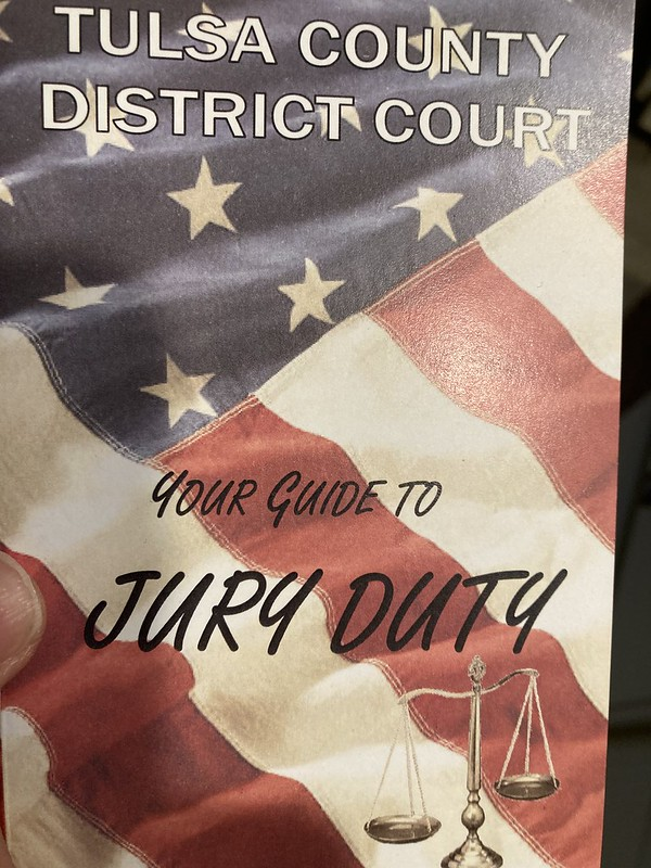 Tulsa County District Court Jury Guide