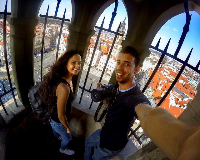 Mirador de la torre del Ayuntamiento de Praga