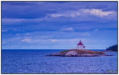 Queensport Lighthouse on Rook Island