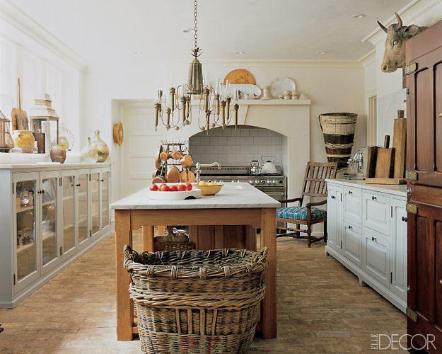 Updated Provençal Kitchen