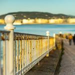 Walking to the sea