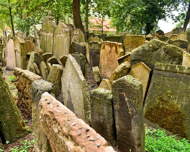 Fotos del cementerio judío de Praga