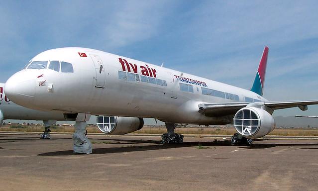Fly Air B757-200 TC-FLD stored at GYR/KGYR