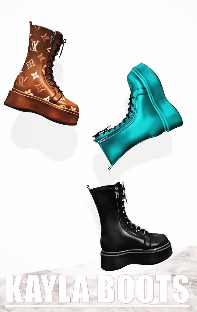 [ZIA]-Kayla Boots Coming!