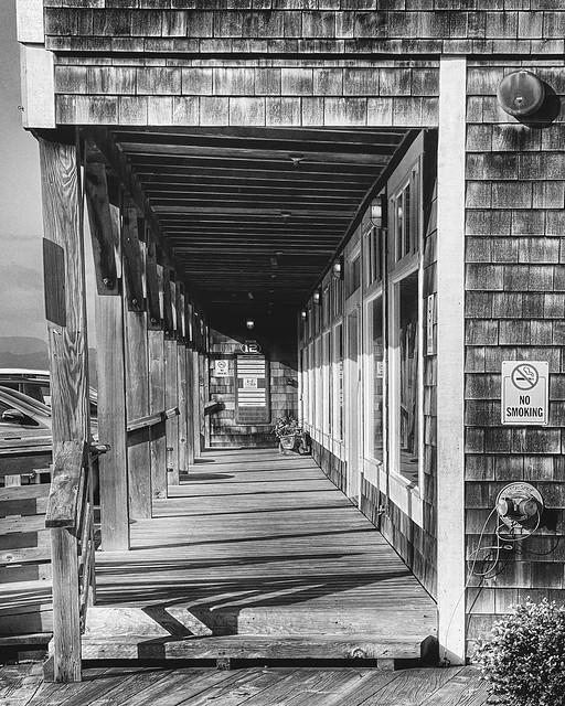 Looking Down Pier 12