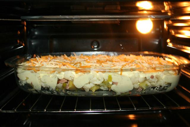 42 - Gratinate in oven / Im Ofen überbacken