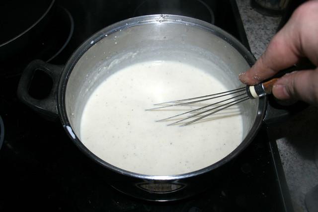 34 - Stir & let cheese melt / Verrühren & Käse schmelzen lassen