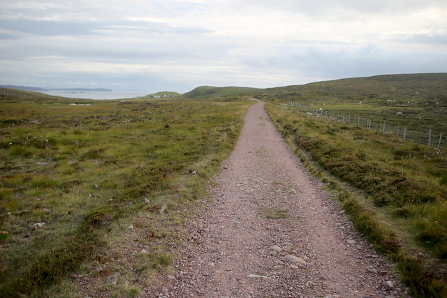 Track between Blairmore and Sandwood Bay