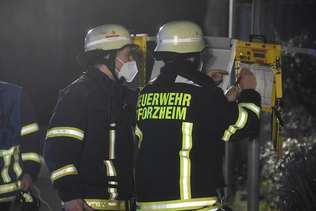 Tiefgaragenbrand Stettiner Straße - 01.03.2021