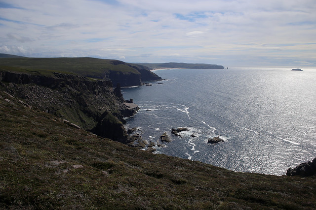 The coast south of Cape Wrath