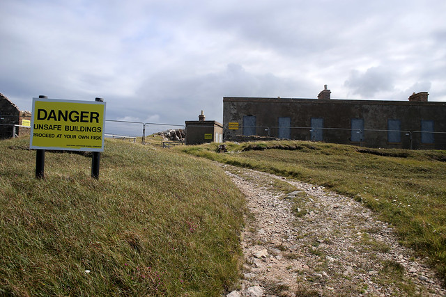 Cape Wrath - Lloyd Signal station ruins