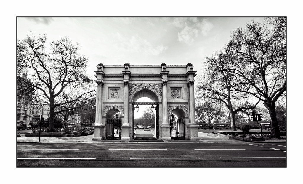 Marble Arch is in Lockdown Too …