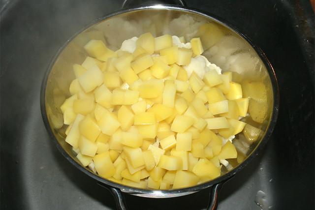 22 - Drain potatoes / Kartoffeln abtropfen lassen