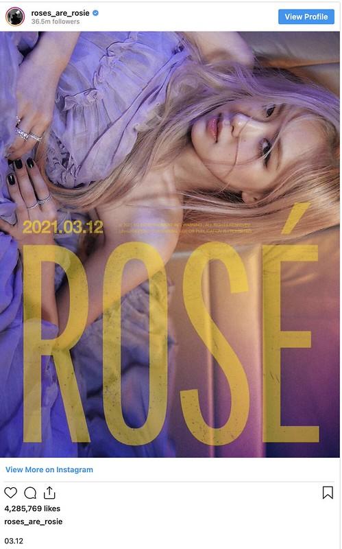 Giliran Rose BLACKPINK Mahu Lancar Single Solo, Apa Kata YG Entertainment