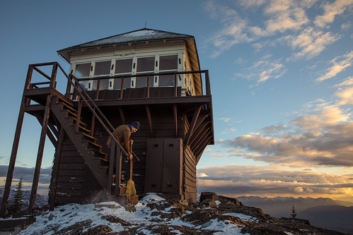 Mt. Brown Lookout, Glacier National Park, Montana