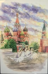 Postcrossing official from Russia