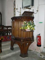pulpit (© Peter Stephens)