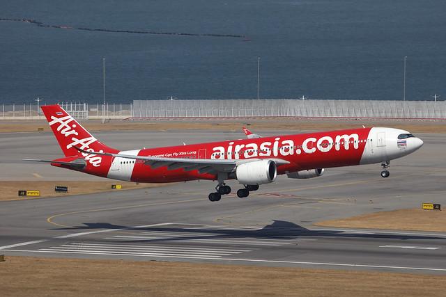HS-XJA, Airbus A330-900, Thai AirAsia, Hong Kong
