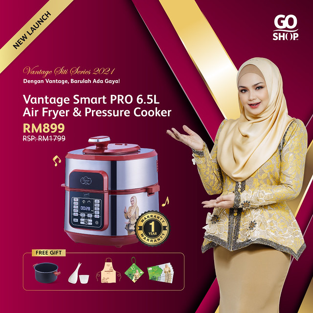 3.Vantage Smart PRO 6.5L AirFryer _ Pressure Cooker