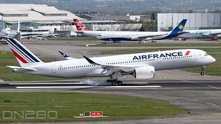 "Air France A350-941 msn 491 F-WZGV / F-HTYI ""Saint Malo"""