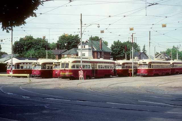 Toronto Transit - Wychwood carhouse