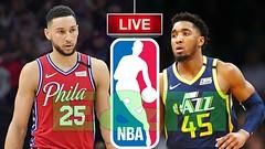 Jazz vs 76ers   Philadelphia 76ers vs Utah Jazz NBA Live Today - Scoreboard