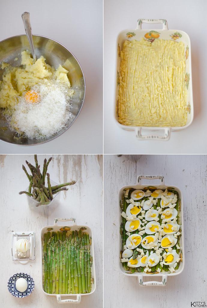 gateau agli asparagi