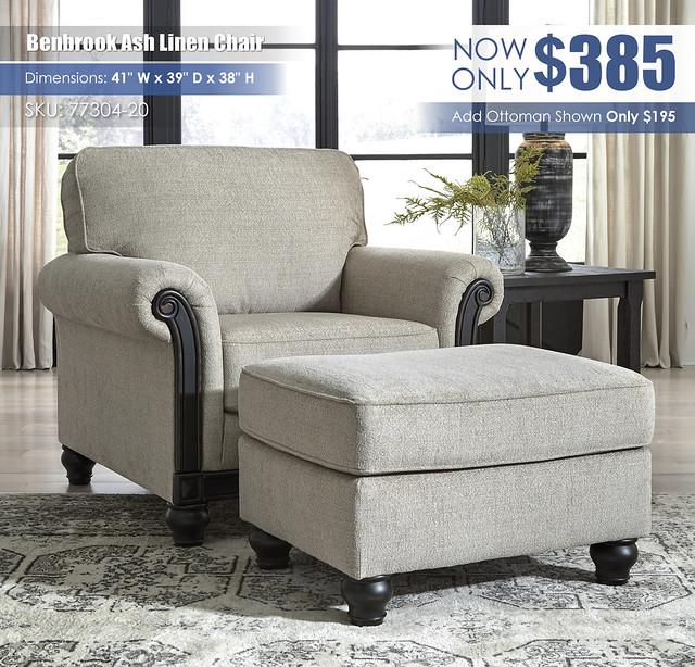 Benbrook Ash Linen Chair_77304-20-14