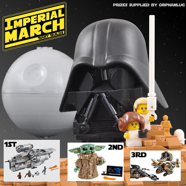 #ImperialMarchBabyBuilds