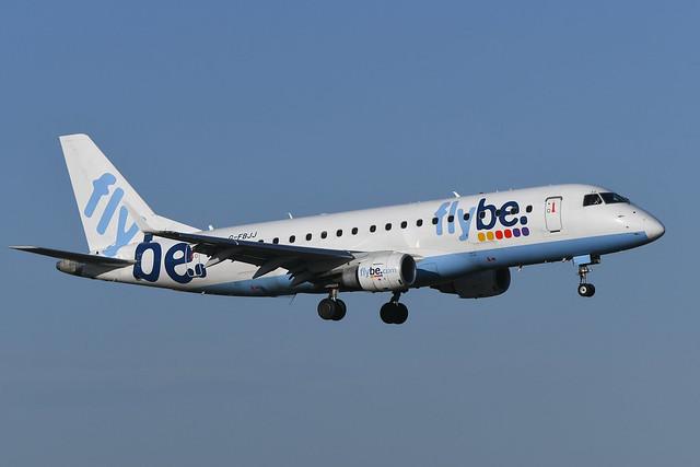 G-FBJJ Embraer 175 EGPH 31-10-19