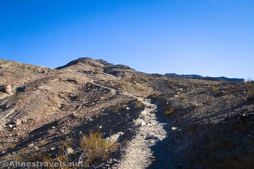 Hiking up the Keane Wonder Trail, Death Valley National Park, California
