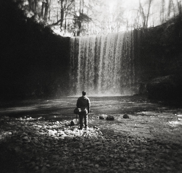 waterfall noir