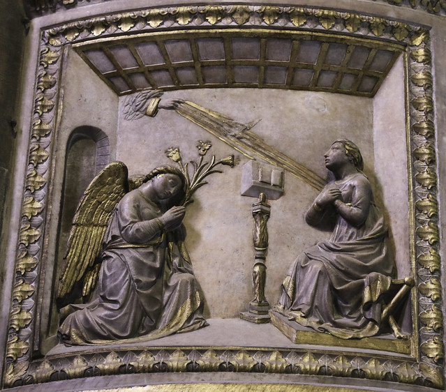 Annunciation Sculpture