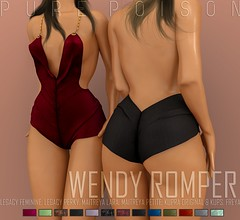 Pure Poison - Wendy Romper - UBER