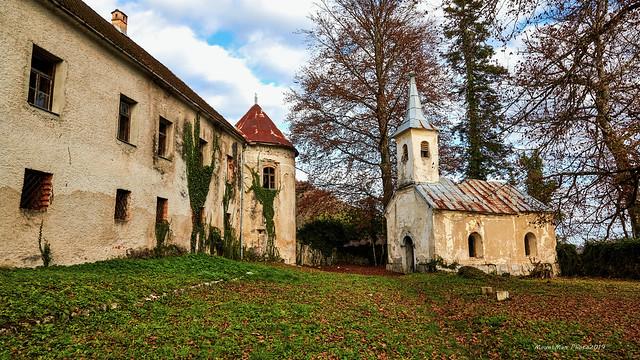 Frankopanski dvorac (kaštel) Severin na Kupi