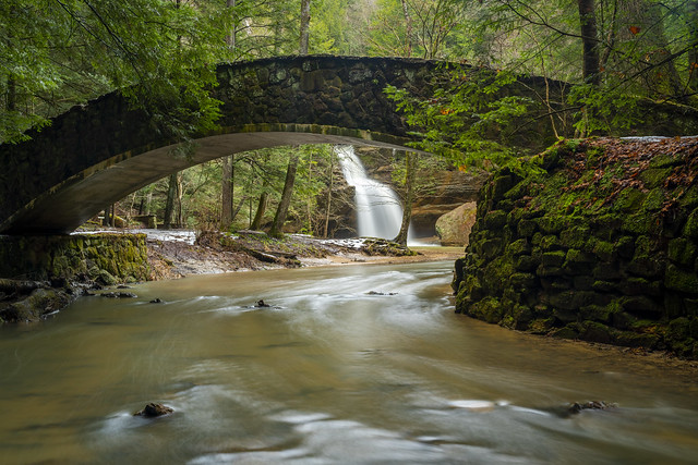 Lower Falls, Spring