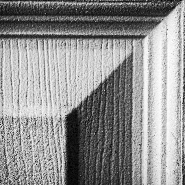 B&W corner abstract