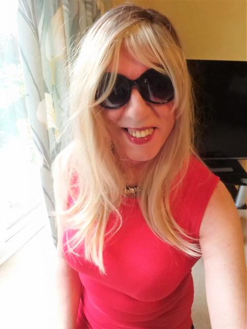 sunglasses red dress