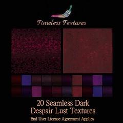 TT 20 Seamless Dark Despair Lust Timeless Textures