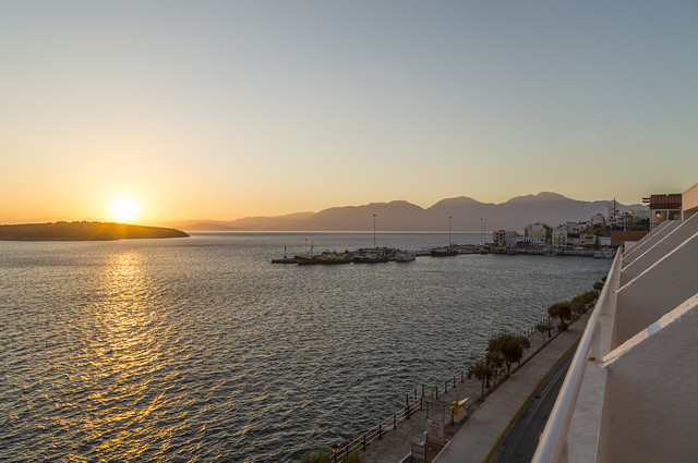 Aghios Nicolaos - Kreta - wczesny ranek we wrześniu 2020